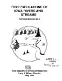 Fish Populations of Iowa Rivers and Streams