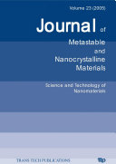 Science and Technology of Nanomaterials