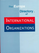The Europa Directory of International Organizations