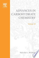 Advances in Carbohydrate Chemistry Book