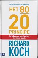 Het 80 20 Principe