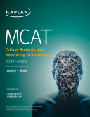 MCAT Critical Analysis and Reasoning Skills Review 2021 2022
