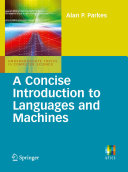 A Concise Introduction to Languages and Machines Pdf/ePub eBook