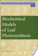Biochemical Models of Leaf Photosynthesis