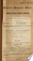 Dickens Household Words And U S Weekly Register Book PDF