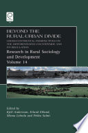Beyond the Rural Urban Divide