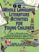 Whole Language Literature Activities for Young Children