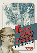 Talbot Mundy, Philosopher of Adventure [Pdf/ePub] eBook