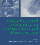 Religion and Sexuality in Cross-Cultural Perspective