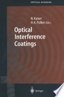 Optical Interference Coatings Book PDF
