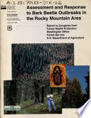 Assessment and Response to Bark Beetle Outbreaks in the Rocky Mountain Area