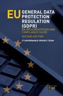 EU General Data Protection Regulation (GDPR)