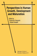 Perspectives in Human Growth, Development and Maturation Pdf/ePub eBook