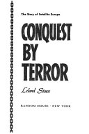 Conquest by Terror