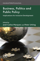 Business, Politics and Public Policy