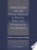 Open Access and the Public Domain in Digital Data and Information for Science
