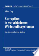 Korruption in verschiedenen Wirtschaftssystemen