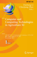 Pdf Computer and Computing Technologies in Agriculture XI Telecharger