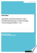 Aufstellen und Horizontieren eines Nivellierinstrumentes (Unterweisung Vermessungstechniker / -in)