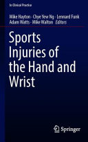 Sports Injuries of the Hand and Wrist Book