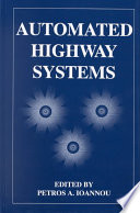 Automated Highway Systems Book PDF