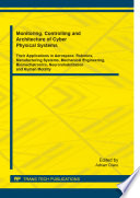 Monitoring  Controlling and Architecture of Cyber Physical Systems Book