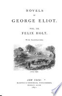 Felix Holt  the Radical Book
