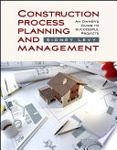 Construction Process Planning And Management Book PDF