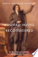 Edward Irving Reconsidered Book