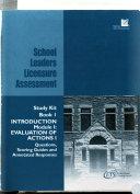 School Leaders Licensure Assessment Book