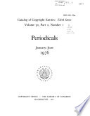 Catalog of Copyright Entries Book