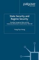 State Security and Regime Security Pdf/ePub eBook