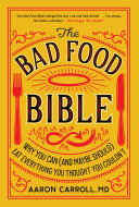 Pdf The Bad Food Bible