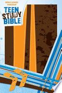 Holy Bible  : King James Version Burnt Orange / Fudge Italian Duo-Tone Teen Study Bible