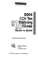 CCH Tax Planning Guide