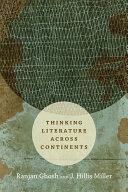 Thinking Literature across Continents [Pdf/ePub] eBook