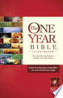 The One Year Bible Illustrated NLT Book