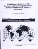 Global Competitiveness of U  S  Environmental Technology Industries