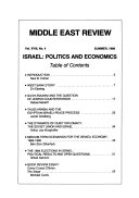 Middle East Review Book
