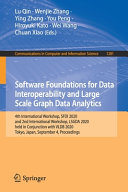 Software Foundations For Data Interoperability And Large Scale Graph Data Analytics Book PDF