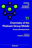 Chemistry of the Platinum Group Metals Book