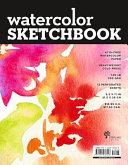 Watercolor Sketchbook   Large Black Fliptop Spiral  Landscape