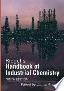 Riegel s Handbook of Industrial Chemistry Book