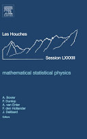 Mathematical Statistical Physics