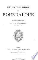 Études sur Bourdaloue