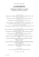 Histoire Du Th Tre Au Canada