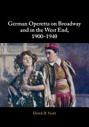 Pdf German Operetta on Broadway and in the West End, 1900–1940