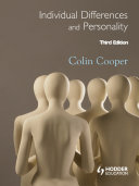 Individual Differences and Personality  Third Edition