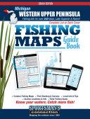 Michigan   Western Upper Peninsula Fishing Map Guide