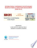 ISOM 2013 Proceedings  GIAP Journals  India  Book